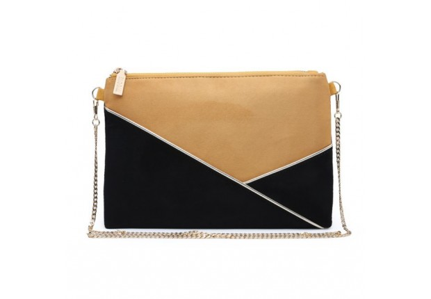 Pochette bi-color