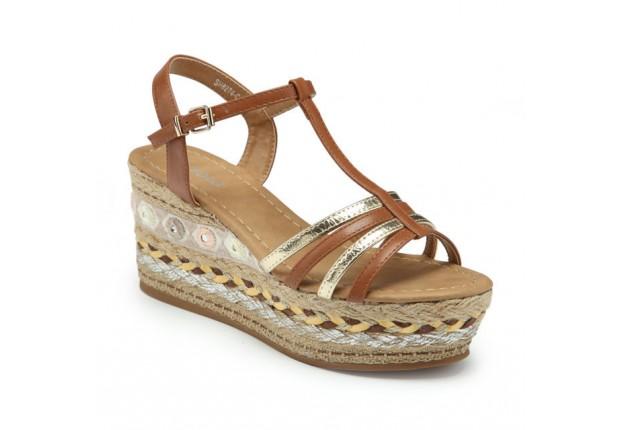 Sandale compensée