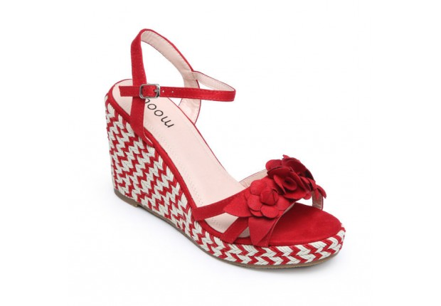 Sandale fleurs